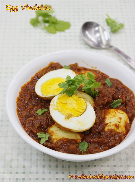 Egg vindaloo recipe