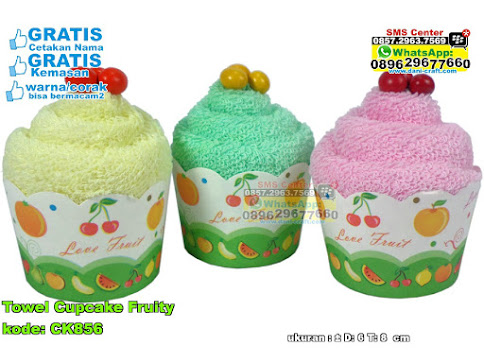 Towel Cupcake Fruity