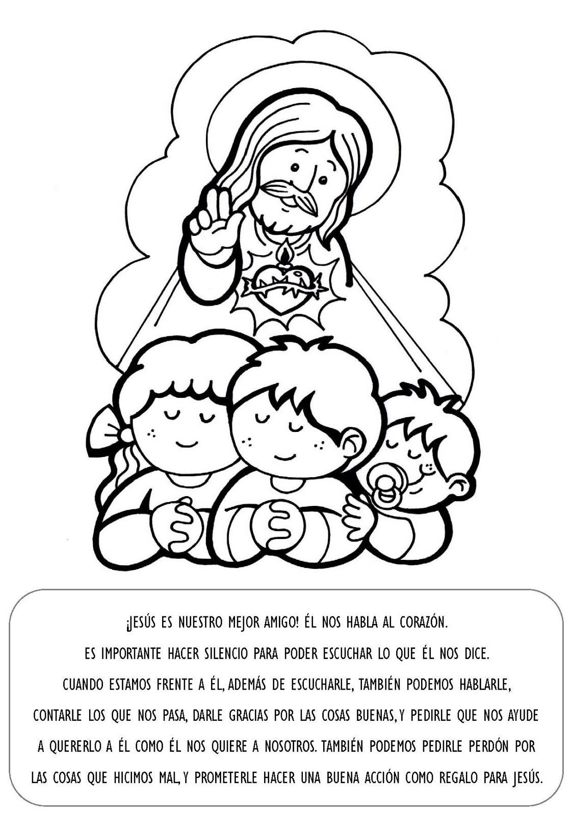 RECURSOS PARA CATEQUESIS: Explicación con imágenes para niños ...