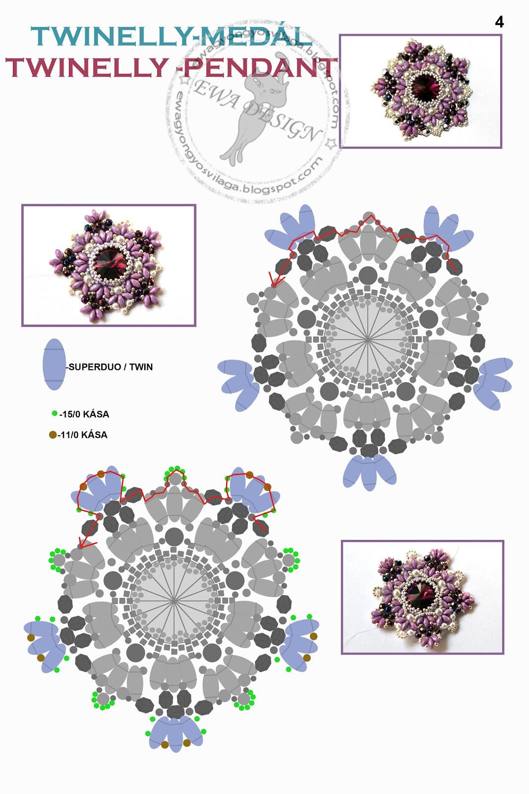 изделия из бисера со схемами, красивые схемы из бисера, как плести из твина.