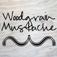 Woodgrain Mustache