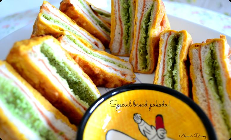 Bread Pakora special