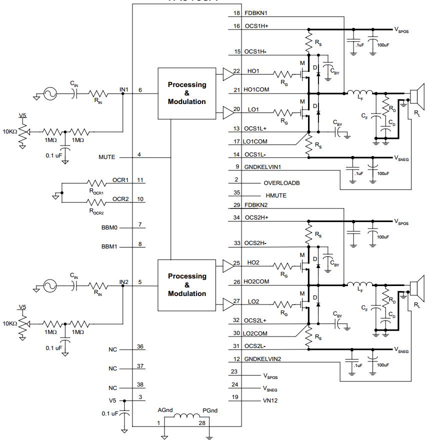 amplifiercircuits com subwoofer rh amplifiercircuits com
