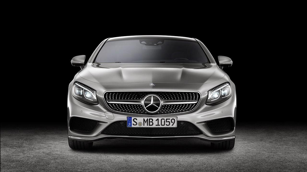 Mercedes-Benz S-Class Coupé front