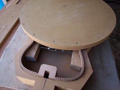 Sanding guitar rims