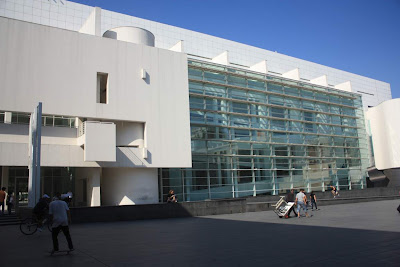 MACBA (Contemporary Art Museum) in Barcelona