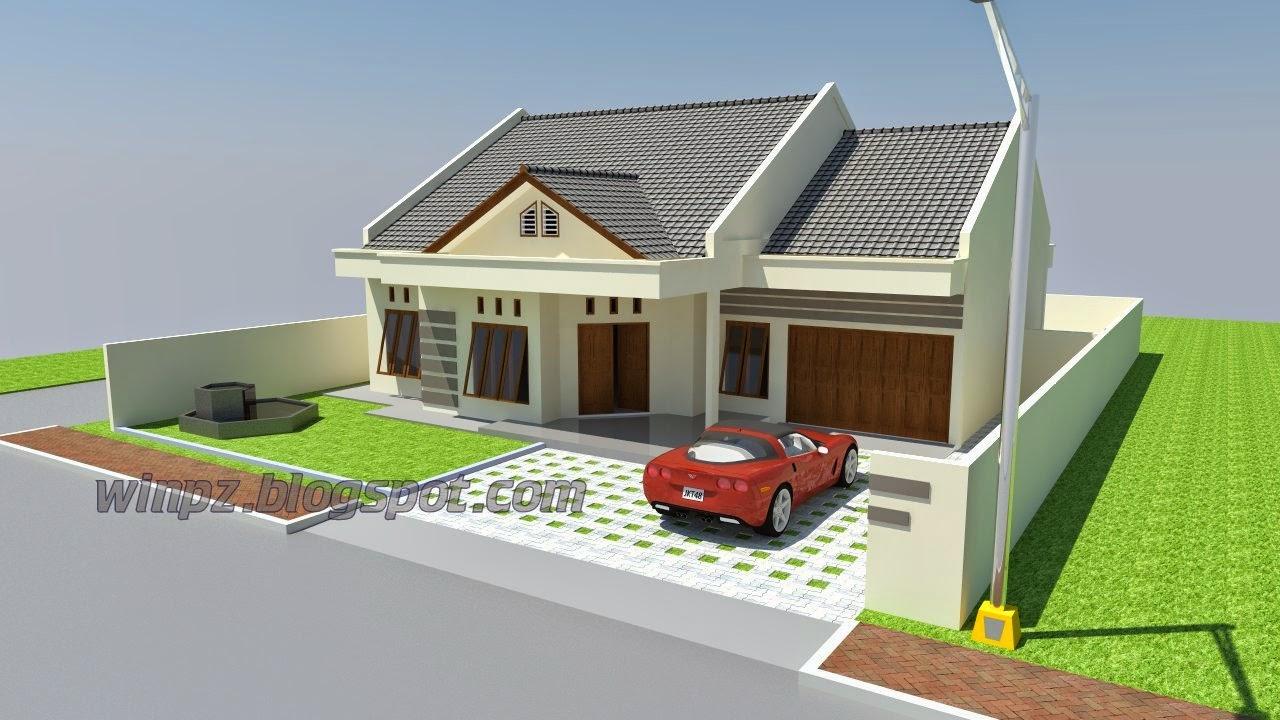 Desain Rumah 1 Lantai Type 200 Winpz