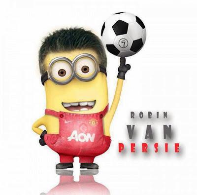 Robin van Persie Minion - Futbol Parodia
