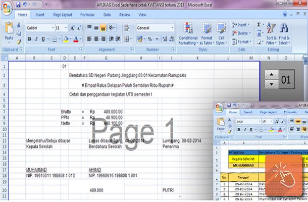 Cetak Kwitansi Praktis dengan Aplikasi Sederhana Microsoft Excel