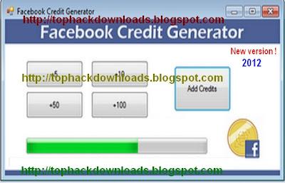 Facebook Credit Generator 2013