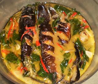 resep masakan tradisional indonesia mangut lele