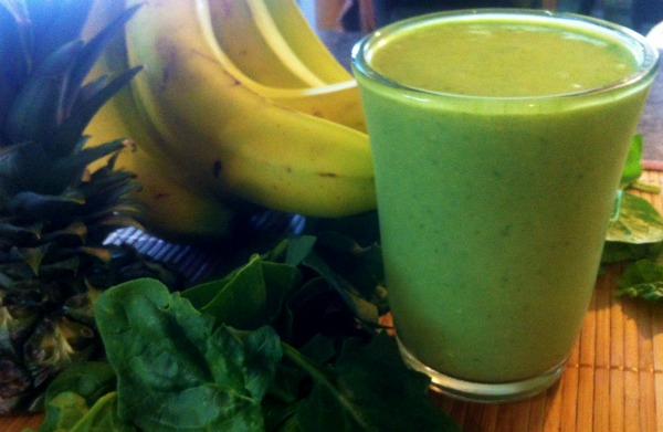 hangover cure, green smoothie for hangovers