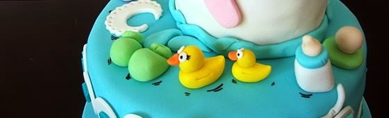 Header picture of Baby in Shower cake