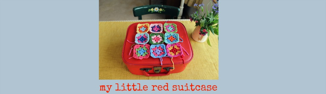 my little red suitcase