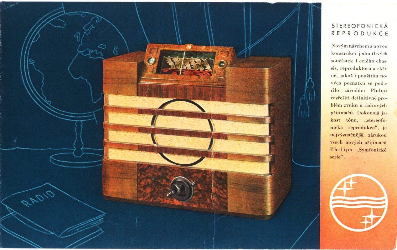 Doctor Ojiplático. Aparatos de Radio. 42 ejemplos de publicidad vintage. Philips