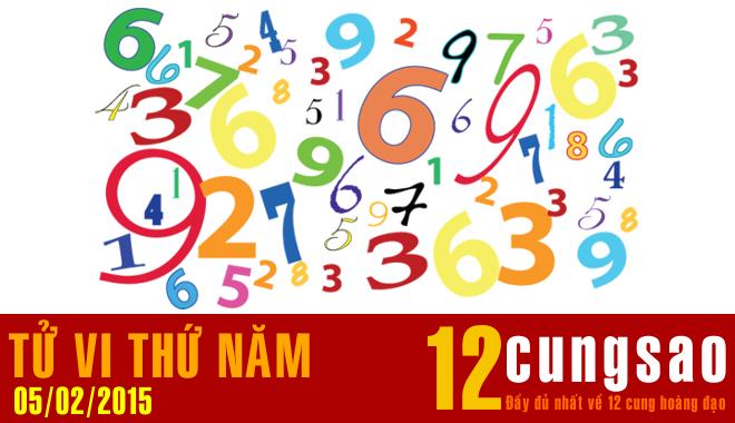 Tử vi Thứ Năm 5/2/2015 - 11 Thần Số hàng ngày
