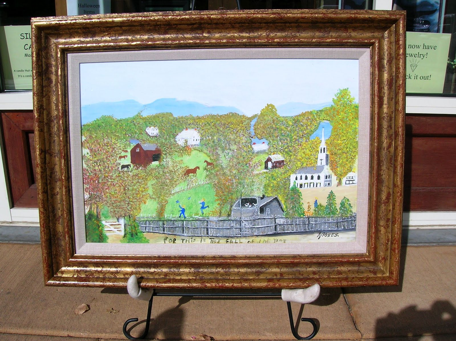 Whats New At Frame By Frame Grandma Moses