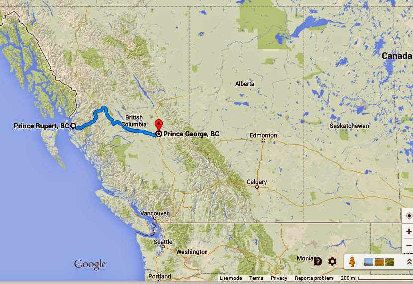 Crofts Mexico And Other Wanderings Highway Of Tears - Highway of tears canada map