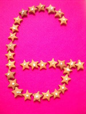 G - jak gwiazdki