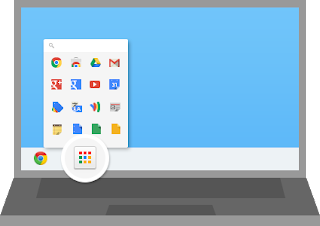 Chrome App Launcher in Windows