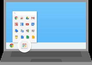 Chrome App Launcher in Windows