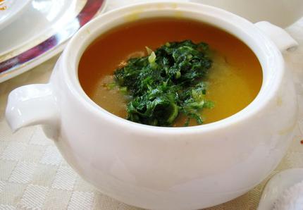 recettes chinoises soupe chinoise de citrouille. Black Bedroom Furniture Sets. Home Design Ideas