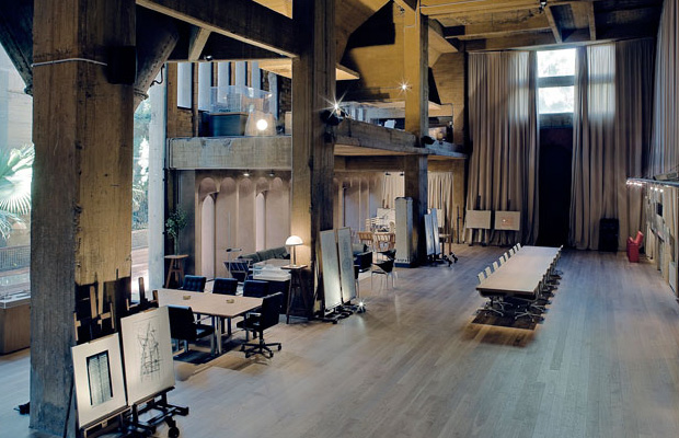 No end to design industrial - Old cement factory turned home ...