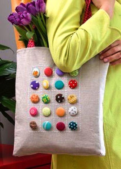 button bags design ideas