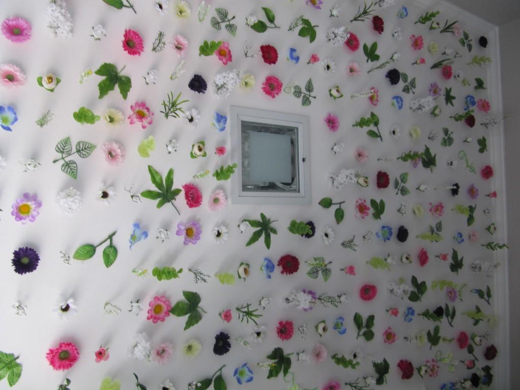 decoracao de lavabo simples : decoracao de lavabo simples:Mas também poderia ser um belo e diferente papel de parede, né?