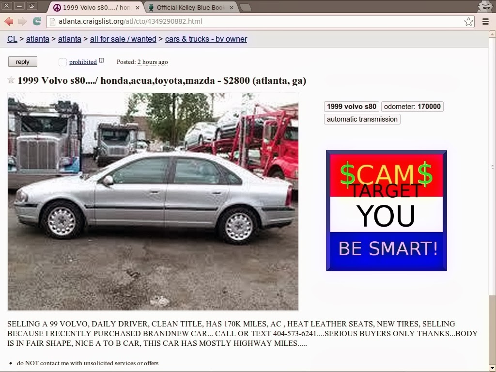 Vehicle Scams Google Wallet Ebay Motors Amazon Payments Ebillme