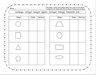 Shape Attribute Worksheets moreover worksheets for kindergarten shape ...