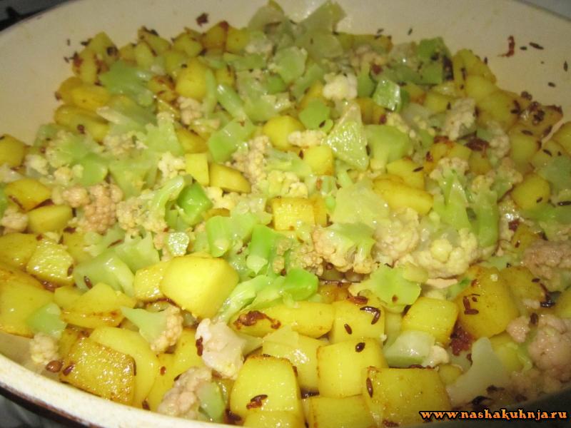 Лаваш с овощной начинкой