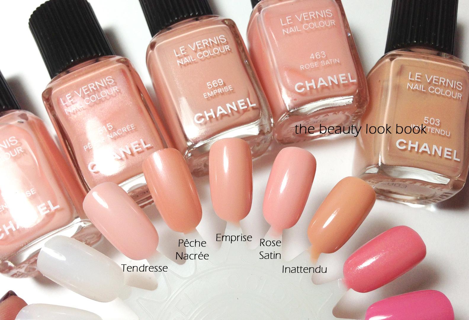 Comparisons For Chanel Emprise Fracas And Accessoire Le Vernis The Beauty Look Book