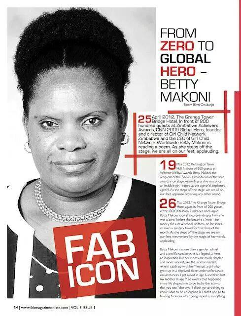 Featured in Fab Magazine