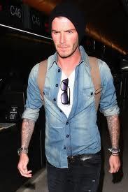 David Beckham jeans