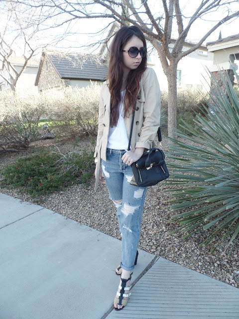 chic neutral outfit