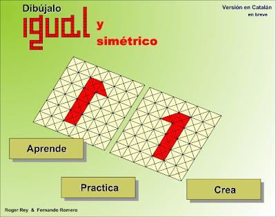 Dibújalo igual y simétrico,Simetría, Matemáticas