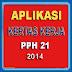 APLIKASI KERTAS KERJA PPH 21 - 2014