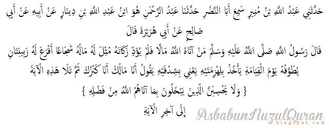 Quran Surat ali 'Imran ayat 180