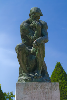 The Thinker, Musée Roddin - Paris, France