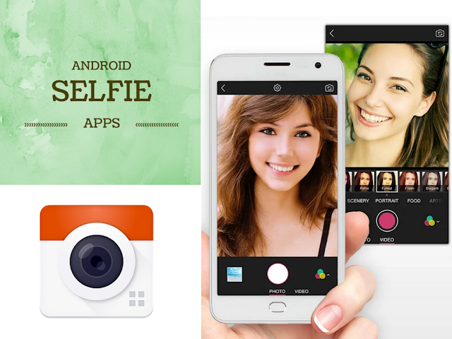 List of 10 Best Android Selfie Apps to take awesome selfie pictures