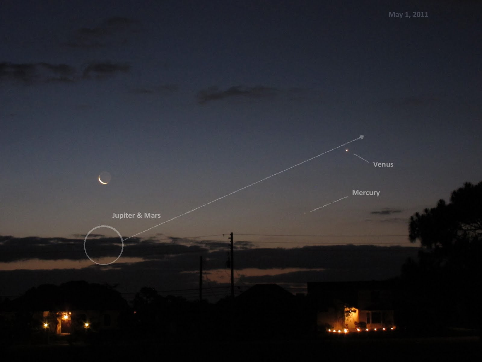 rare four planet alignment has started in the eastern dawn sky and ...