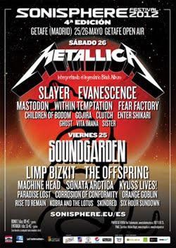 La crónica del Sonisphere 2012 de Madrid por Fran Cea