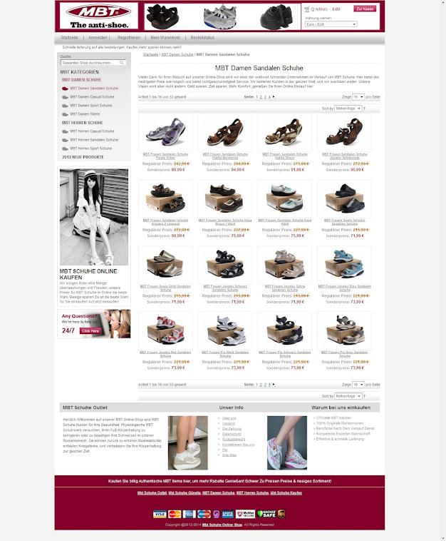 MBT Frauen Sandalen Schuhe