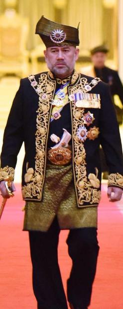 Seri Paduka Baginda Yang Di-Pertuan Agong.