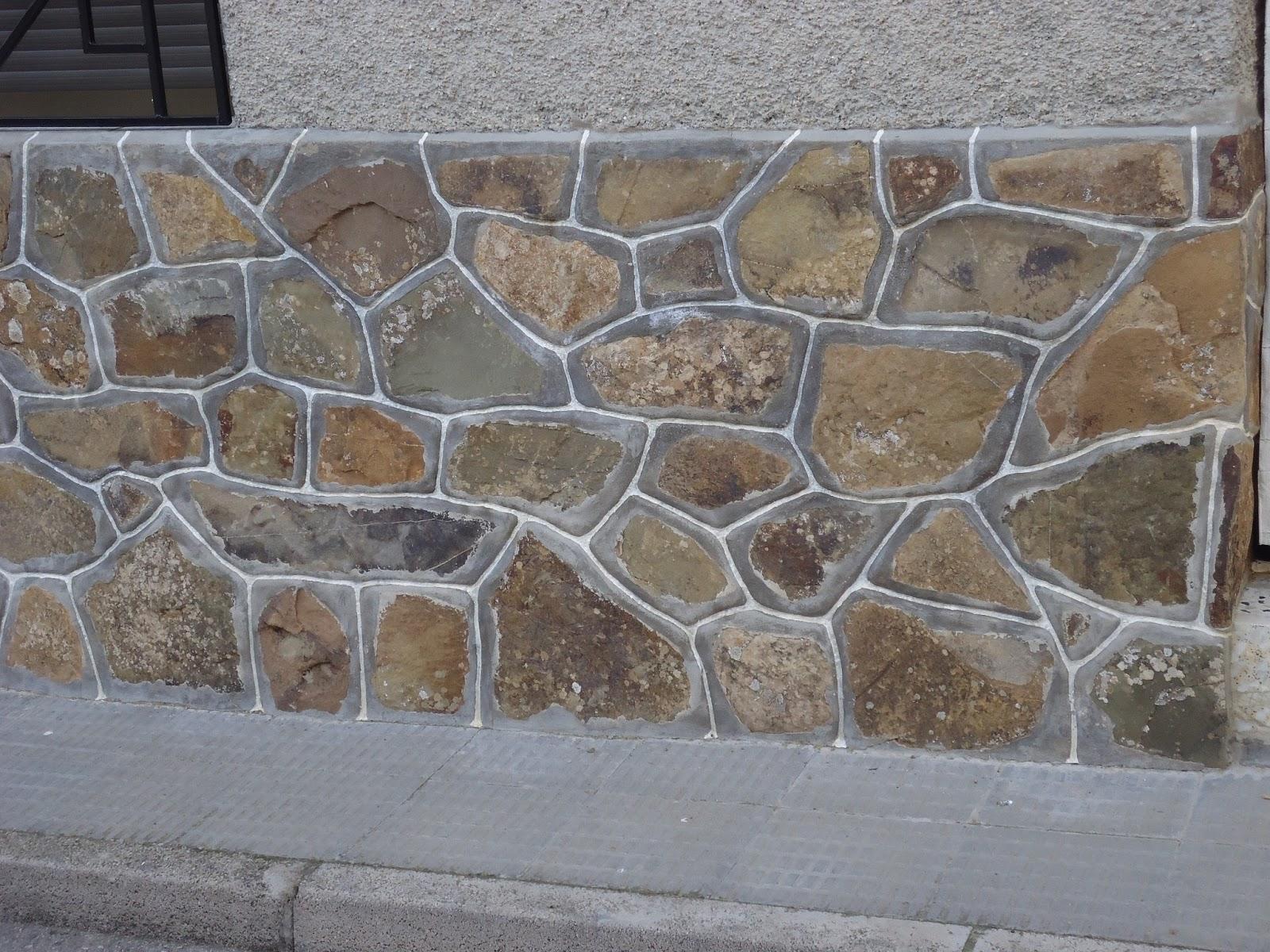 Construcciones confonel s l galer a - Zocalos de piedra ...