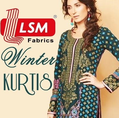 LSM Fabrics Winter Kurtis Collection 2014