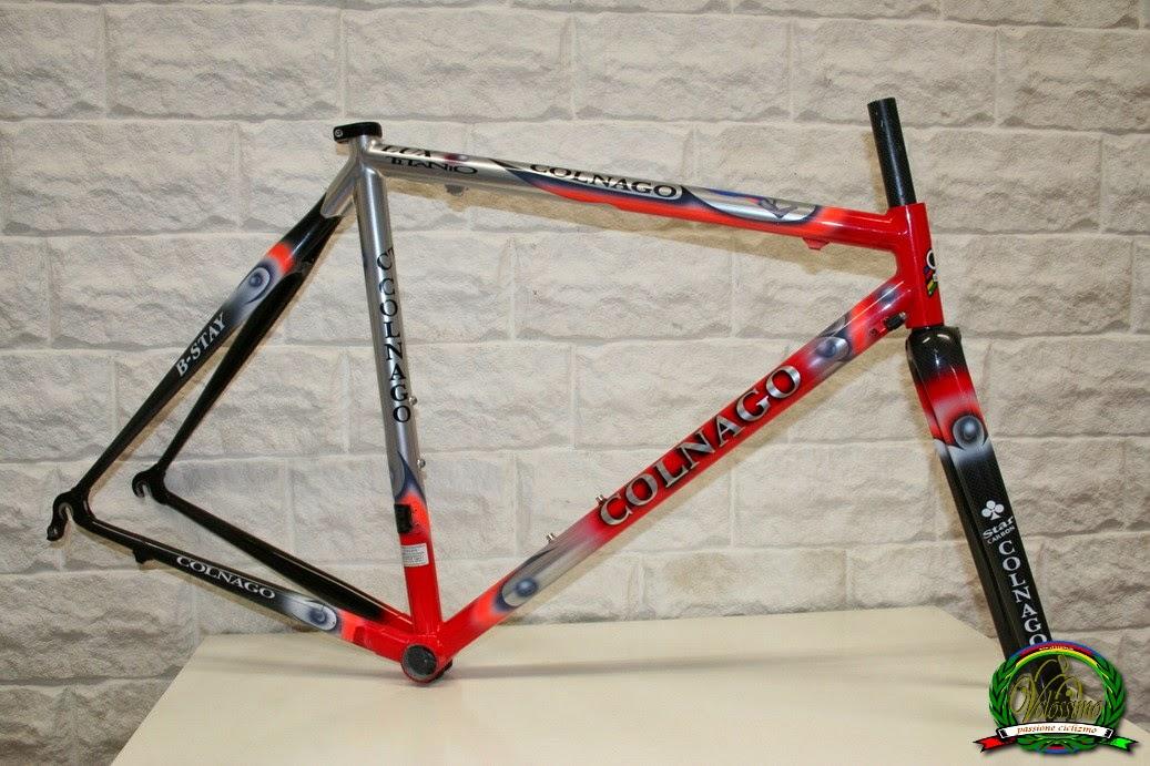 Velossimo: Colnago CT1 Lux Titanio B-Stay titanium carbon frame set