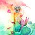 Un Jardin Sur Le Nil - perfume illustration