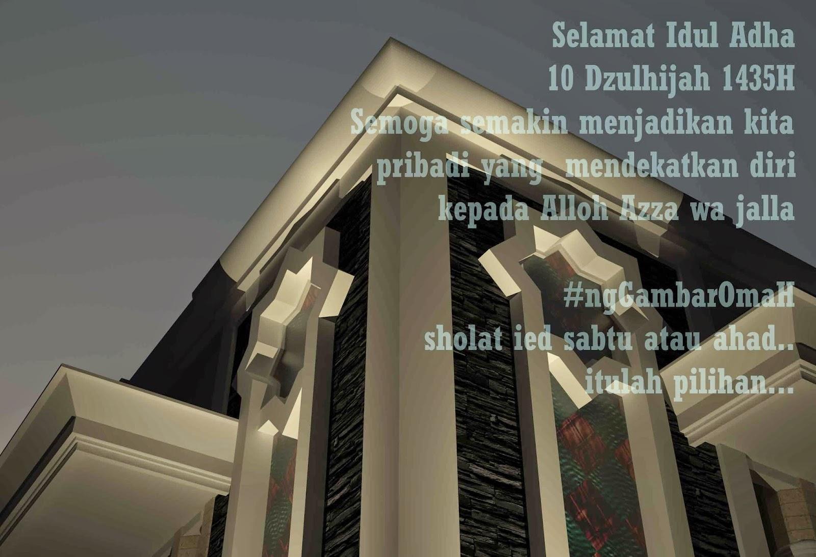 Selamat Idul Adha 10 Dzulhijah 1435 H...